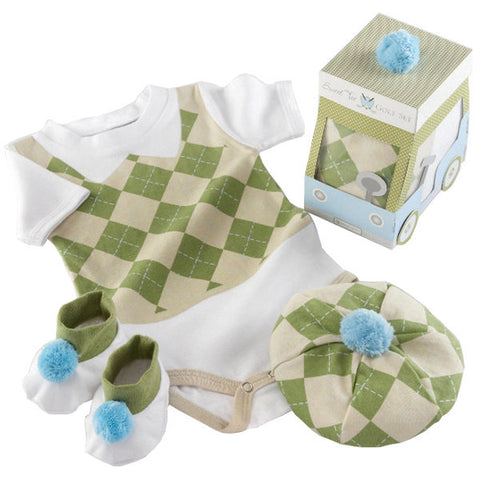 Sweet Tee Golf Layette Set