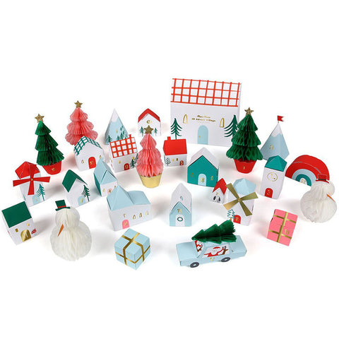 Christmas Countdown Advent Village