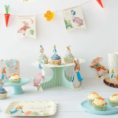 Peter Rabbit Scallop Edge Paper Plates