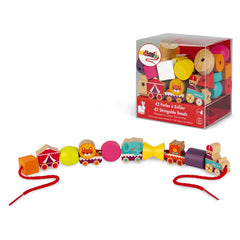 Janod Circus Lacing Beads
