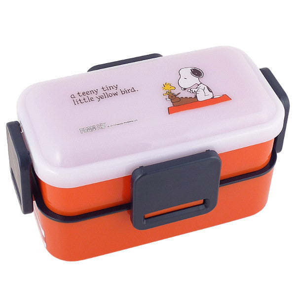 Snoopy Double Deck Lunch Bento Box, Red