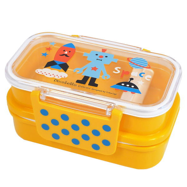 Space Robot Double Deck Lunch Bento Box from Japan