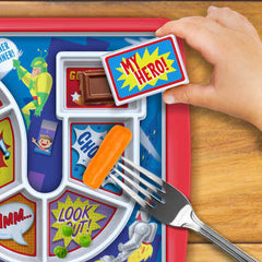 Dinner Winner Kids Plate, Super Hero