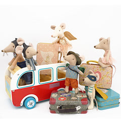 Maileg Ballerinal Mouse in Suitcase