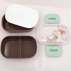 Shinzi Katoh Double Decks Lunch Box- Cheri
