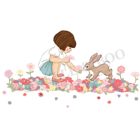Belle & Boo Meadow Wall Sticker