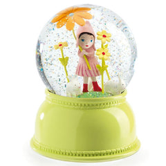 Djeco Snow Globe Night Light, Flower Girl