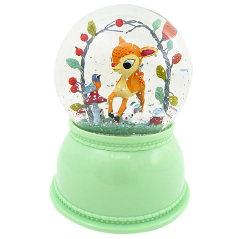 Djeco Snow Globe Night Light, Fawn