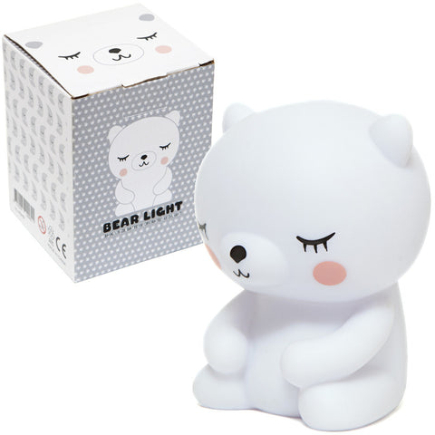 Petit Monkey Polar Bear Nightlight