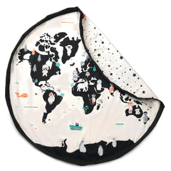 Play&Go Worldmap Toy Storage Bag