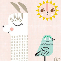 Sunshine Lama Poster by Suzy Ultman