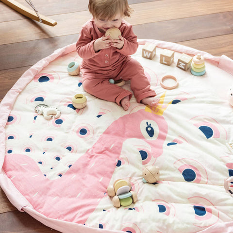 Play&Go 3 in 1 Playmat, Peacock