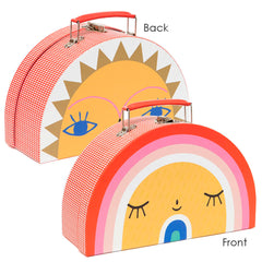 Petit Monkey  Rainbow & Sun Suitcase