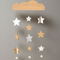 Starry Sky Deluxe Bamboo Mobile