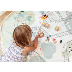 Play&Go Train Map Toy Storage Bag