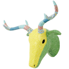 Wall Hanging Paper Mache Deer Head