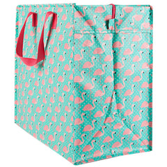 Tropical Flamingo Storage Bag