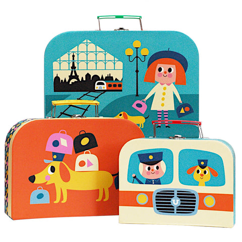 Nesting Suitcase Set by Ingela P. Arrhenius
