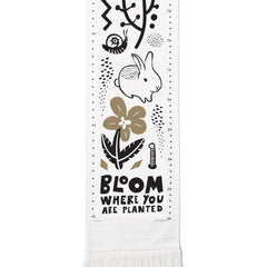 Wee Gallery Canvas Growth Chart, Bloom