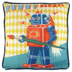 Robot Cushion made in England