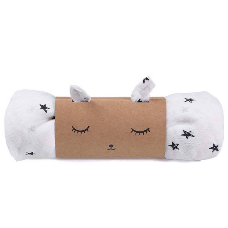 Wee Gallery Organic Swaddle, Stars