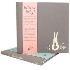 Welcome Baby! Baby Keepsake Book