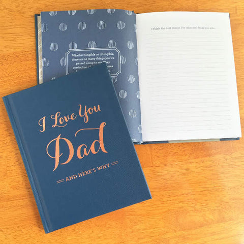 I Love You Dad, Personalized Gift Book