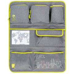 Lassig Car Organizer, Friends, Grey