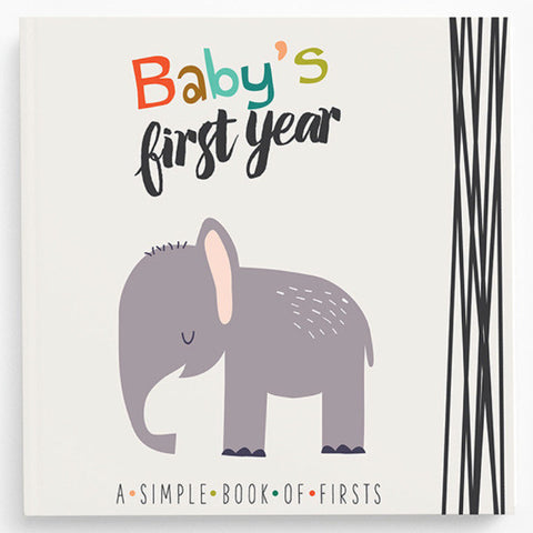 Little Animal Baby Keepsake Book