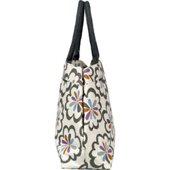 Pom Pom Grey City Tote