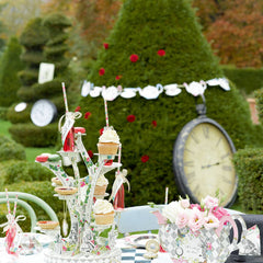 Alice Tea Party Garland