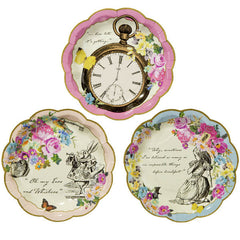 Alice Tea Party Paper Plates