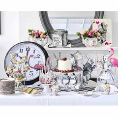 Alice Tea Party Trio Treat Stand