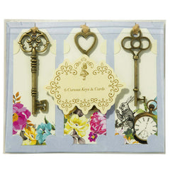 Alice Tea Party Gift Tag/ Place Card, 6pack