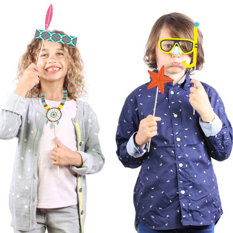 PhotoBooth Props for Kids