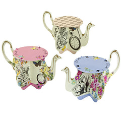 Alice Tea Party Cupcake Stands, 6pack