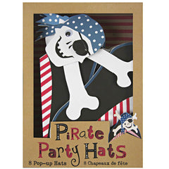 Pirate Party Hats (Set of 8)