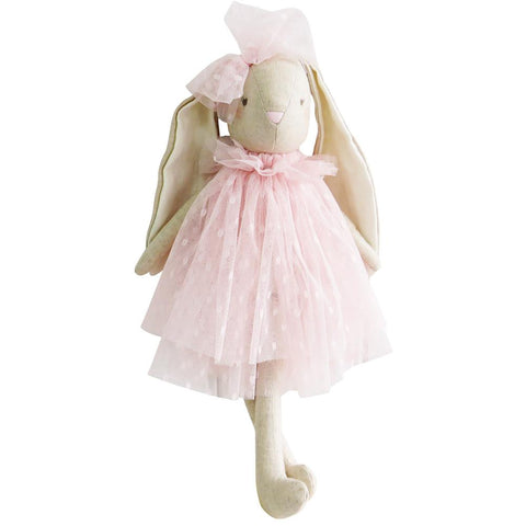 Alimrose Baby Beth Bunny, Pink, 15 inches