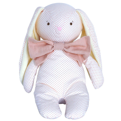 Alimrose Floppy Bunny with Pink Bow