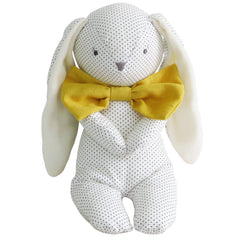 Alimrose Floppy Bunny with Yellow Bow