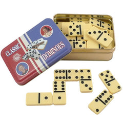 Classic Toy in Tin Box, Dominoes