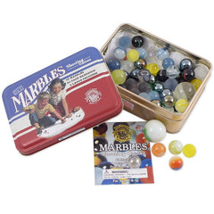 Classic Toy in Tin Box, Marbles