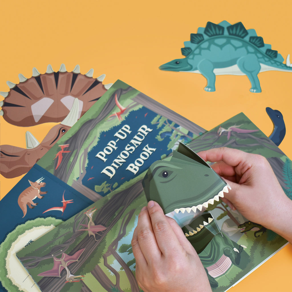 Make Your Own Dinosaur Pop-up Book