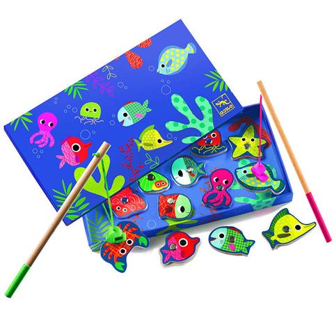 Djeco Magnetic Fishing Game