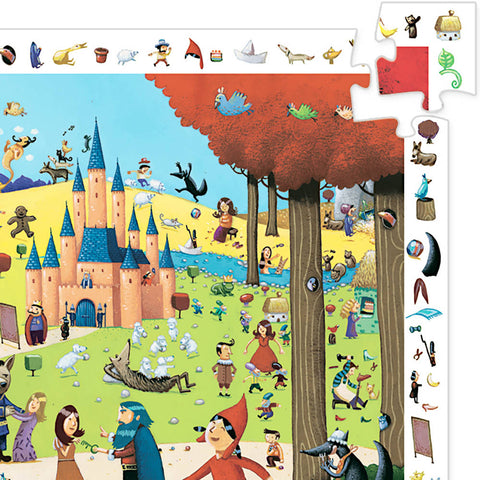 Djeco Search & Find Puzzle, Tales (54pcs)