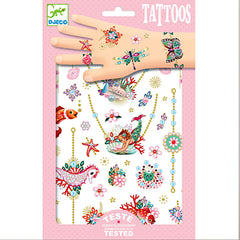 Djeco Temporary Tattoos, Fiona's Jewels