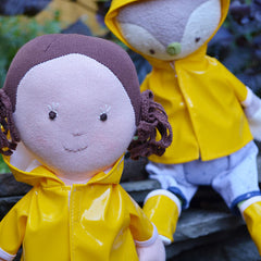 Dress-up Clothes for Hazel Village Dolls