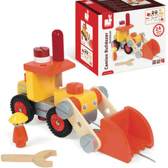 Janod Bulldozer Building Set
