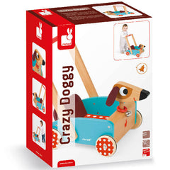 Doggy Wooden Baby Walker