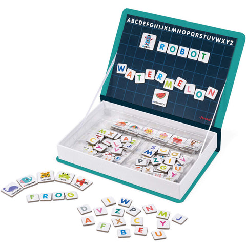 Magnetic Puzzle Book, Alphabet
